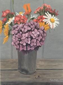summer selection, gloucester, ma oil on canvas