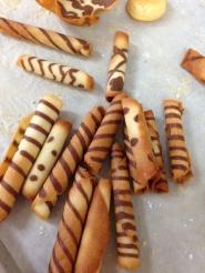 Cigarettes; Petit Four Sec, Demi-Sec & Italian Cookies