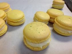 Lemon Macarons; Petit Four Sec, Petit Four Demi-Sec & Italian Cookies