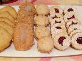 Pain Turk, Mirrors, Sponges, Linzer Cookies; Petit Four Sec, Demi-Sec & Italian Cookies